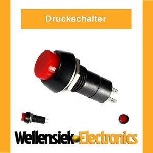 Druckschalter-Schalter-6V-9V-12V-24V-230V-bis-250V-Wippschalter-Kippschalter-Rot
