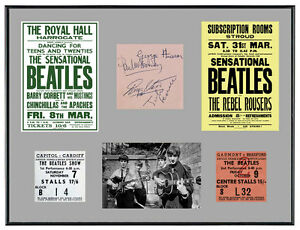 Beatles-1960s-Memorabilia-Poster-Tickets-Autographs
