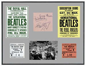 Beatles-1960-039-s-Memorabilia-Poster-Tickets-amp-Autographs