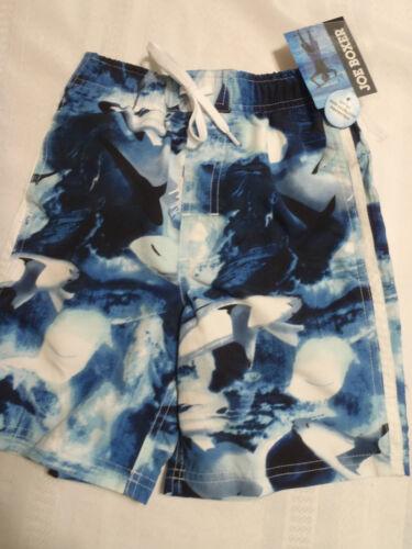 JOE BOXER Size 4 5 6 7 or 10 12 Swim Trunks Choice Flame Shark Plaid Swimwear
