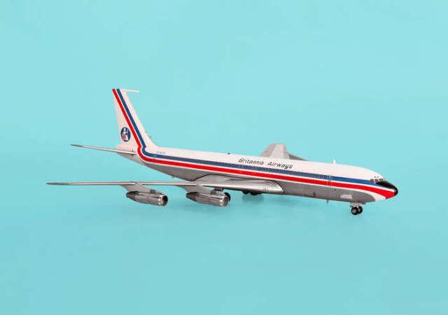Inflight200 Britannia Airways Boeing 707 1:200 Plane Aircraft Model IF7070411P