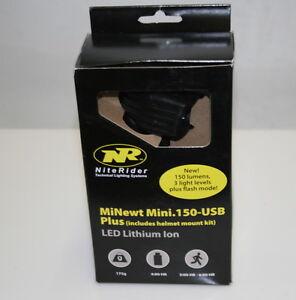 NiteRider-MiNewt-Mini-150-LED-Bike-Light-USB-Plus-NEW