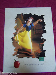 Disney-poster-advertising-Classic-movie-034-SNOW-WHITE-034-034-FAIREST-OF-THEM-ALL-034