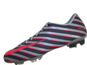 Mens-Nike-Mercurial-Miracle-II-CR-FG-Soccer-Cleats-Size-10-New-Mach-Blur-Red