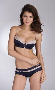 Pierre-Cardin-1206-Balconette-Bra-with-matching-panties-Blue