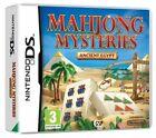 Mahjong Mysteries: Ancient Egypt (Nintendo DS, 2010) - European Version