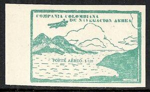 Compagnie Colombienne de Navigation Aérien 1920 YV 10 MNH VF