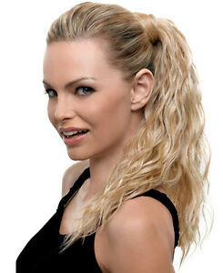 How to put halo extensions in a ponytail