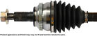 CV Axle Shaft-New Constant Velocity Drive Axle Front Left Cardone 66-2188