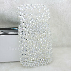 Diamond-Pearl-White-Hard-Crystal-Back-Case-Cover-For-Samsung-Galaxy-S3-I9300