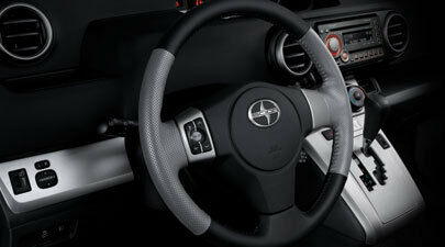 Genuine Scion Leather Steering Wheel for 2008-2015 Scion xB and xD-New, OEM