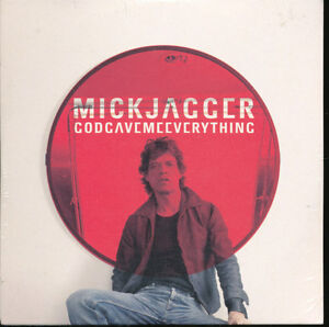 Mick-Jagger-of-the-Rolling-Stones-God-Gave-Me-Everything-PROMO-Import-CD-Single