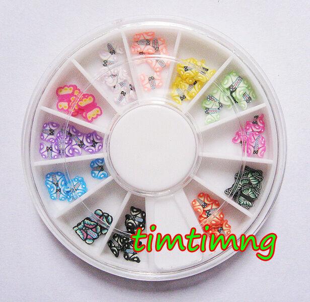 3D New Hot Nail Art Rhinestones Glitters Acrylic Tips Decoration Manicure Wheel