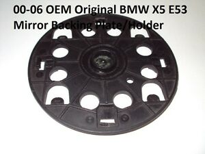 OEM-0-6-BMW-X5-series-E53-MIRROR-MOTOR-DRIVE-Backing-plate-LH-Left-RH-Right-Side