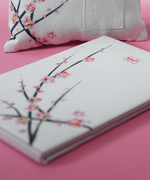 Traditional Cherry Blossom Wedding Guest Book