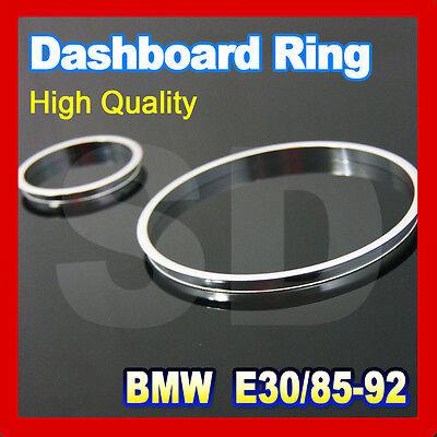 BMW E30 85-92 cluster rings gauge rings dashboard rings Aluminum alloy