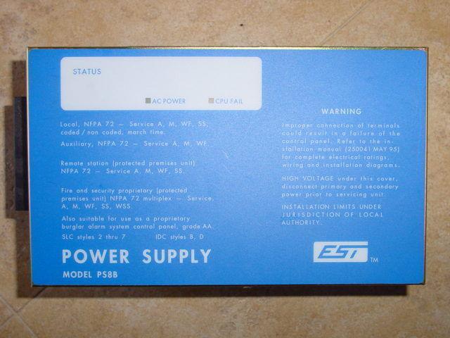 Edwards Est Irc3 Ps8b Fire Alarm Power Supply For Sale Online Ebayrhebay: Est Irc 3 Fcca Dual Channel Audio Control At Gmaili.net