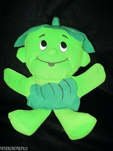 1992-JOLLY-GREEN-GIANT-LITTLE-LI-039-L-SPROUT-STUFFED-PLUSH-HAND-PUPPET-SP-EDITION