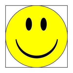 3 Inch Novelty Smiley Face Ceramic Fridge Magnet Ebay