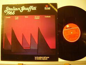 ITALIAN-GRAFFITI-1965-LP-33-ALAIN-BARRIERE-Rokes-RICKY-SHAYNE-Kessler-MINA