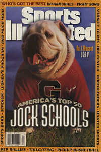 UGA-V-Sports-Illustrated-Poster-Best-Mascot-Georgia-Bulldogs-4-23-97