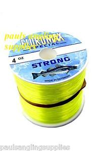Yellow-Sea-Fishing-Line-For-Beach-Or-Boat-Reel-Fluromax-4oz-Bulk-Spool