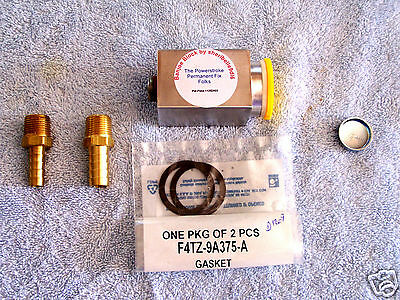 Fuel Upgrade for FORD, banjoe block, connector for fuel lines to cyl heads OBS