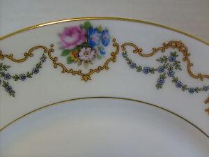 Mayfair-Salad-Plate-7-5-8-034-Bohemia-Ceramic-Works-2161-Czecho-Slovakia-RB-2