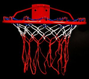 Full-Size-All-Weather-Sports-Stars-Basketball-Hoop-Ring-Goal-Nylon-Net-Netting
