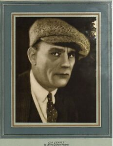 LON-CHANEY-1925-Silent-Movie-Star-Portrait-METRO-GOLDWYN-Film-Studio-Photo