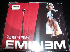 Eminem Sing For The Moment Australian CD Single – Like New ...