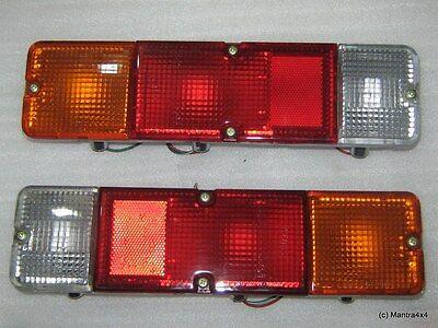 Suzuki Samurai Tail Taillights Taillamps Rear Brake Lights Lamp Pair Set 86-95