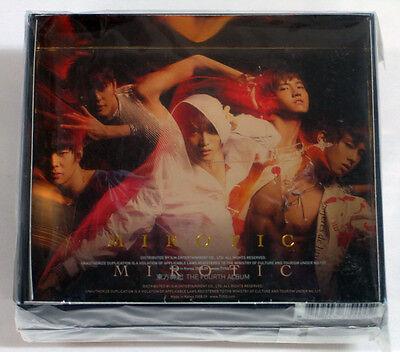 DBSK TVXQ - Mirotic Version-A (4th Album) CD+60p Photo Booklet +Mini Photo