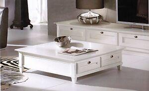 Tavolini In Legno Bianco : Tavolino basso in legno laccato bianco da salotto in vari colori
