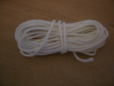 """10 Metre Cotton Braided Candle Wick - for 1.1/4"""" to 1.3/4"""" (32mm-43mm) (MBC-1H)"""