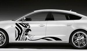 CAR VINYL SIDE GRAPHICS DECALS STICKER ANIMALS ZEBRA D EBay - Car vinyl decals