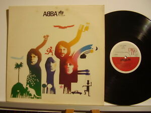 ABBA disco LP 33 giri ABBA THE ALBUM made in ITALY - Italia - ABBA disco LP 33 giri ABBA THE ALBUM made in ITALY - Italia