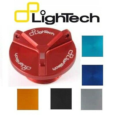 LIGHTECH TAPPI OLIO YAMAHA T-MAX 500 530 OIL FILLER CAPS OIL004 ERGAL 6 COLORI