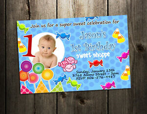 CANDYLAND-LAND-CANDY-BIRTHDAY-PARTY-INVITATION-CUSTOM-1ST-lollipop-first-INVITES