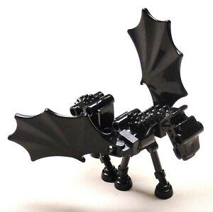 Lego-Black-Skeleton-Horse-Animal-Thestral-Winged-Harry-Potter-Minifig-5378