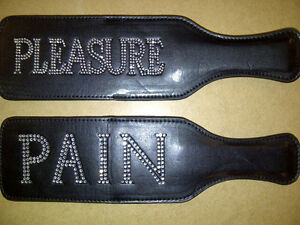 Paddle-Spanker-Fetish-Kinky-Black-Pain-Pleasure