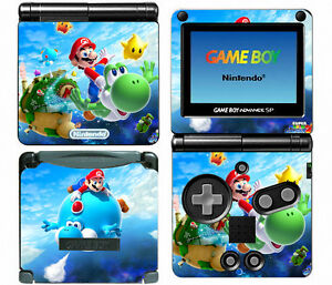 Super-Mario-Galaxy-114-Vinyl-Decal-Skin-Sticker-Cover-Game-Boy-Advance-GBA-SP
