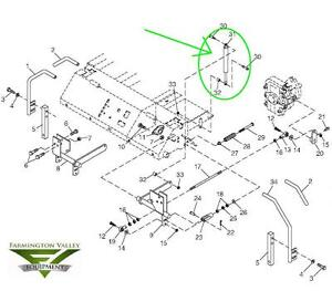 s l300 john deere m653 m655 m665 steering dampener torsional damper gas john deere m655 parts diagram at love-stories.co