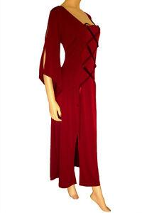 NWT-WOMEN-039-S-PLUS-SIZE-CLOTHING-GODDESS-CORSET-DRESS-IN-BURGUNDY-3X