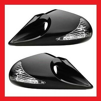 BMW E36 3 Series Compact Door Evo LED Wing Door Mirrors Left & Right Manual