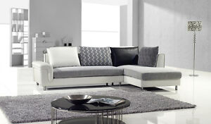 Modern-Contemporary-fabric-and-leather-sectional-sofa-chaise-set-couch-living