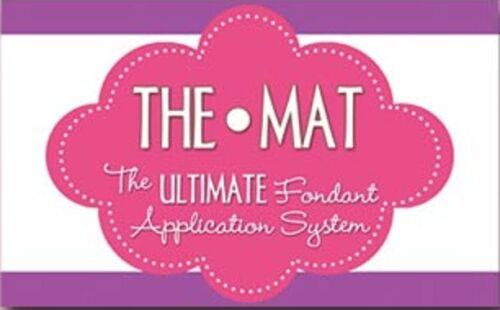 The PRO MAT Ultimate Fondant Application System 30 x 30 inch cake decorating