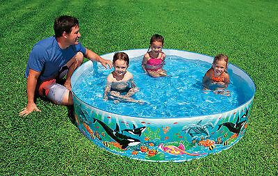 INTEX OCEAN REEF SNAP POOL CHILD TODDLER KIDDIE WADDING PLAY SWIMMING POOL