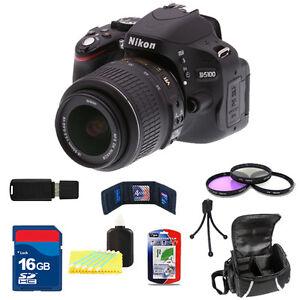 Nikon-D5100-Black-w-18-55mm-VR-Lens-16GB-Basic-Kit