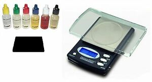 Electronic-Jewelry-Gram-Scale-6-Bottle-Gold-Silver-Acid-Tester-Test-Testing-Kit